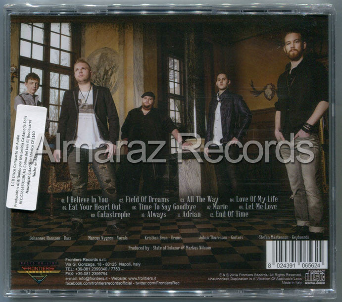 State Of Salazar All The Way CD - Almaraz Records | Tienda de Discos y Películas  - 2