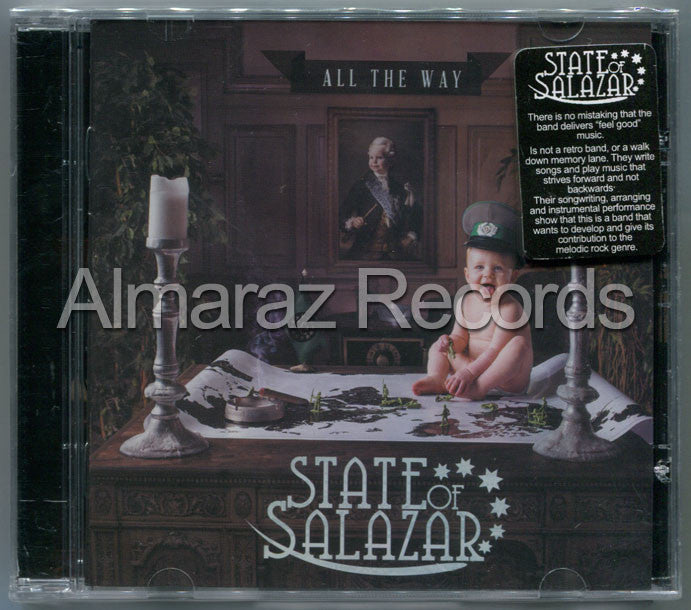 State Of Salazar All The Way CD - Almaraz Records | Tienda de Discos y Películas  - 1