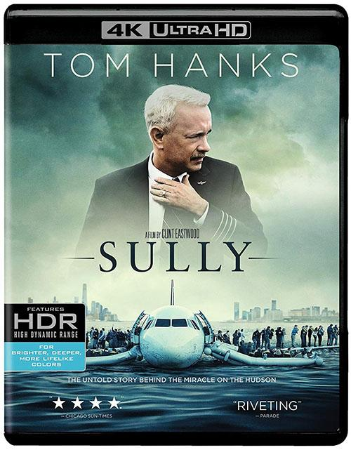 Sully Hazaña En El Hudson Blu-Ray 4K Ultra HD + Blu-Ray