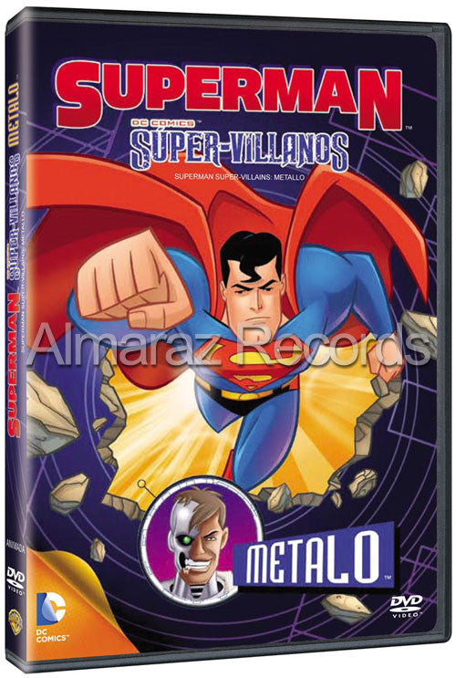 Superman Super Villanos Metalo DVD - Superman Supervillains Metallo - Almaraz Records | Tienda de Discos y Películas