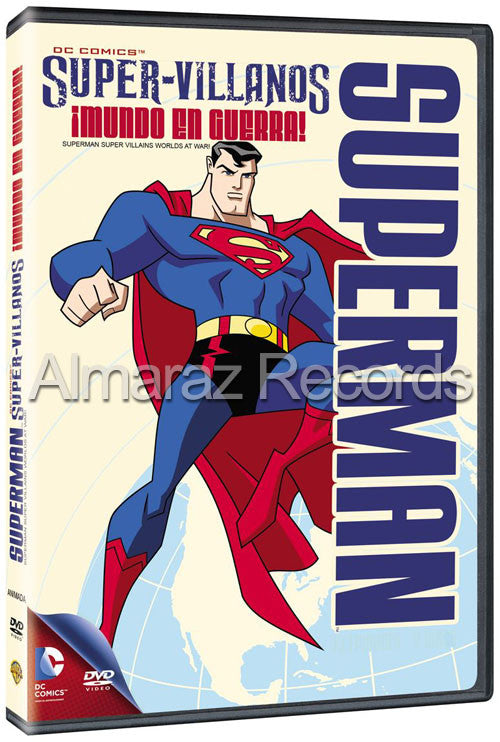 Superman Super Villanos Worlds At War 2DVD - Superman Super Villains Worlds At War - Almaraz Records | Tienda de Discos y Películas
