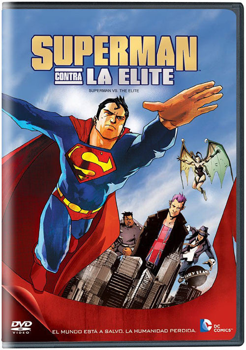 Superman VS La Elite DVD - Superman VS The Elite - Almaraz Records | Tienda de Discos y Películas  - 1
