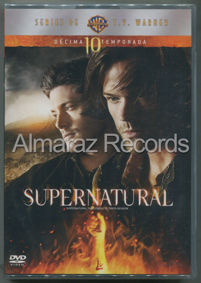 Supernatural Temporada 10 6DVD