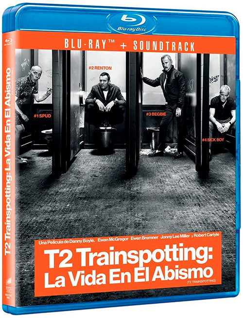 T2 Trainspotting 2 La Vida En El Abismo Blu-Ray + CD