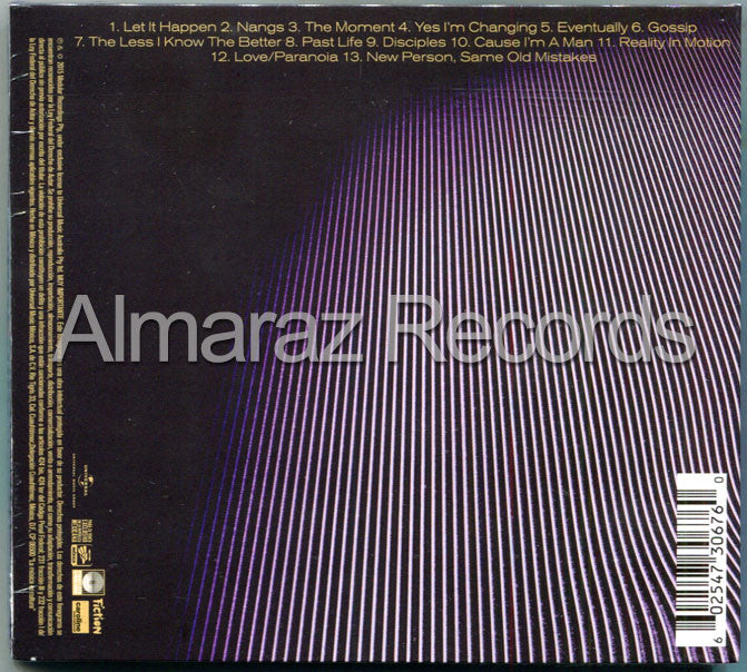 Tame Impala Currents CD - Almaraz Records | Tienda de Discos y Películas  - 2
