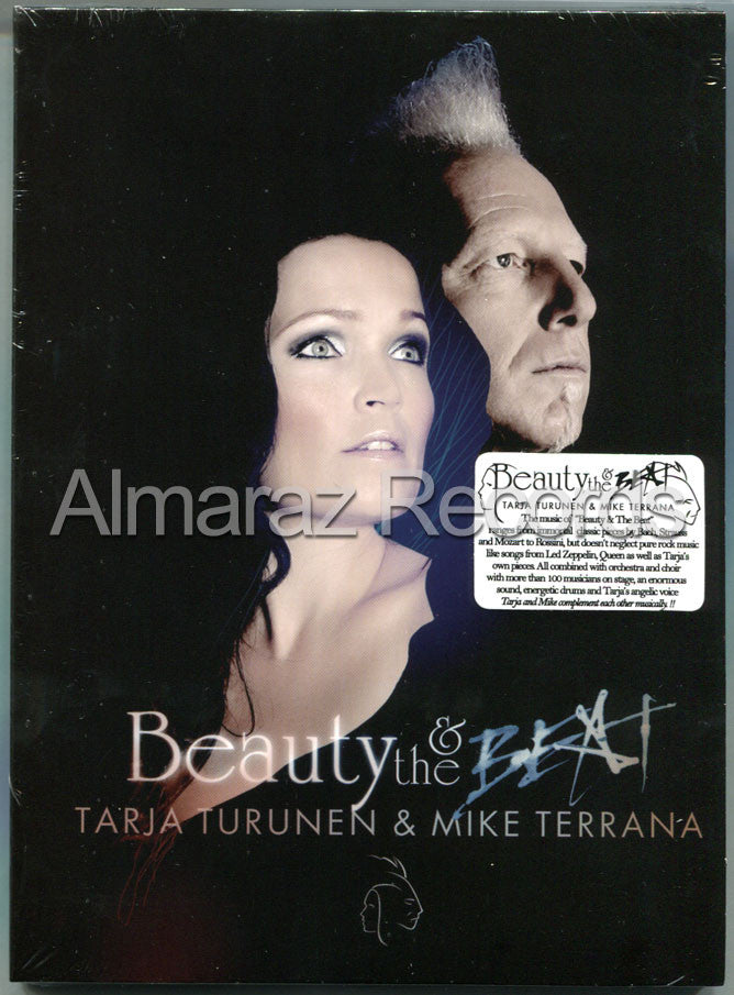 Tarja Turunen & Mike Terrana Beauty & The Beat DVD - Almaraz Records | Tienda de Discos y Películas  - 1