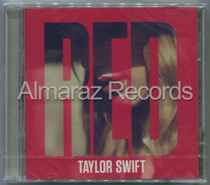 Taylor Swift RED Deluxe 2CD [Importado]