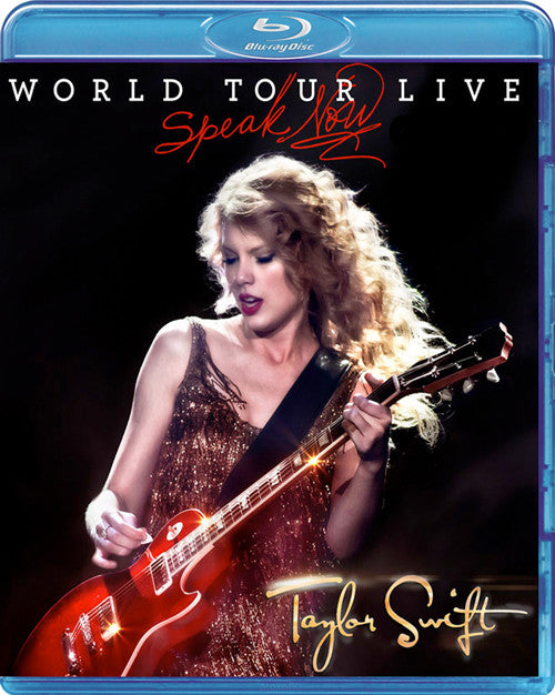 Taylor Swift Speak Now World Tour Live Blu-Ray - Almaraz Records | Tienda de Discos y Películas