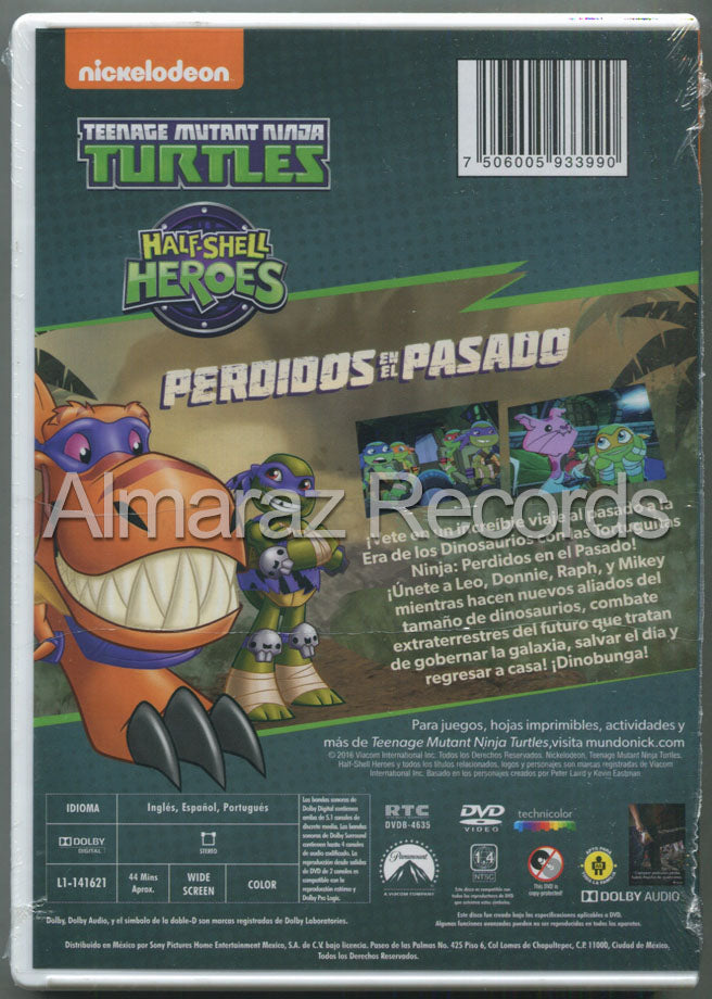 Teenage Mutant Ninja Turtles Perdidos En El Pasado DVD
