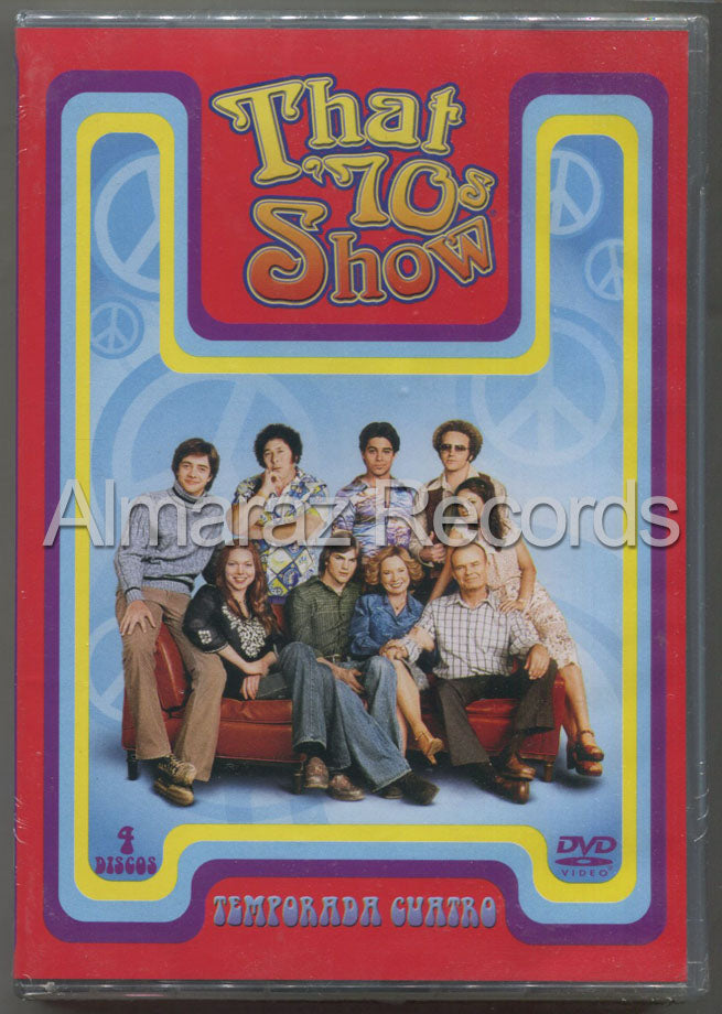 That's 70s Show Temporada 4 DVD