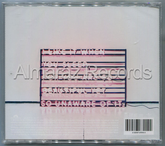 The 1975 I Like It When You Sleep CD - Almaraz Records | Tienda de Discos y Películas  - 2
