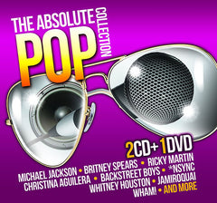 The Absolute Pop Collection 2CD+DVD - Almaraz Records | Tienda de Discos y Películas