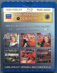The Analog Golden Age Of Opera Vol. 1 Blu-ray Audio