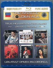 The Analog Golden Age Of Opera Vol. 2 Blu-ray Audio