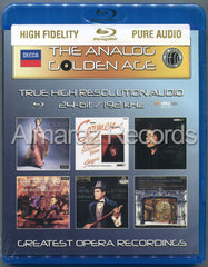 The Analog Golden Age of Opera Vol. 3 Blu-ray Audio