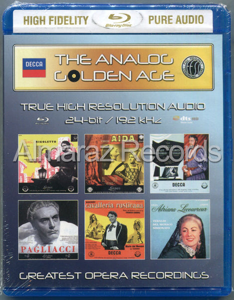 The Analog Golden Age of Opera Vol. 4 Blu-ray Audio