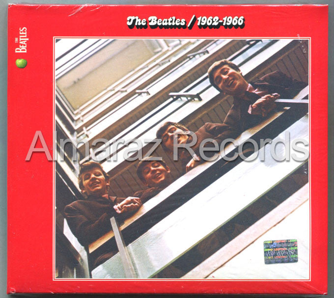 The Beatles 1962-1966 2CD - RED - Almaraz Records | Tienda de Discos y Películas  - 1