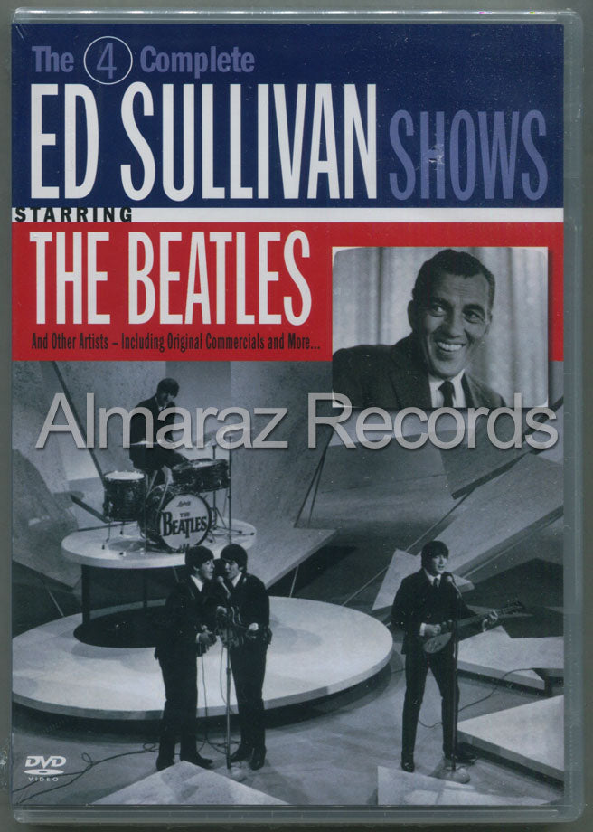 The Beatles 4 Complete Ed Sullivan Shows Starring The Beatles DVD