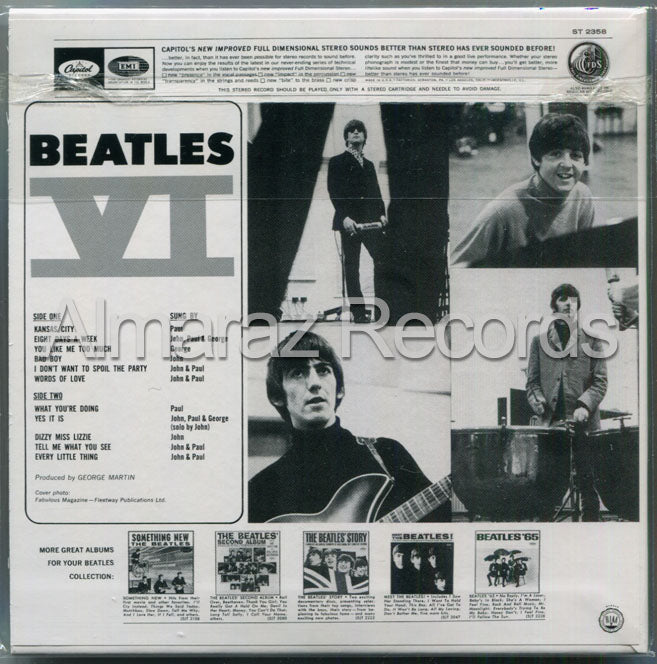 The Beatles Beatles VI CD [Import]