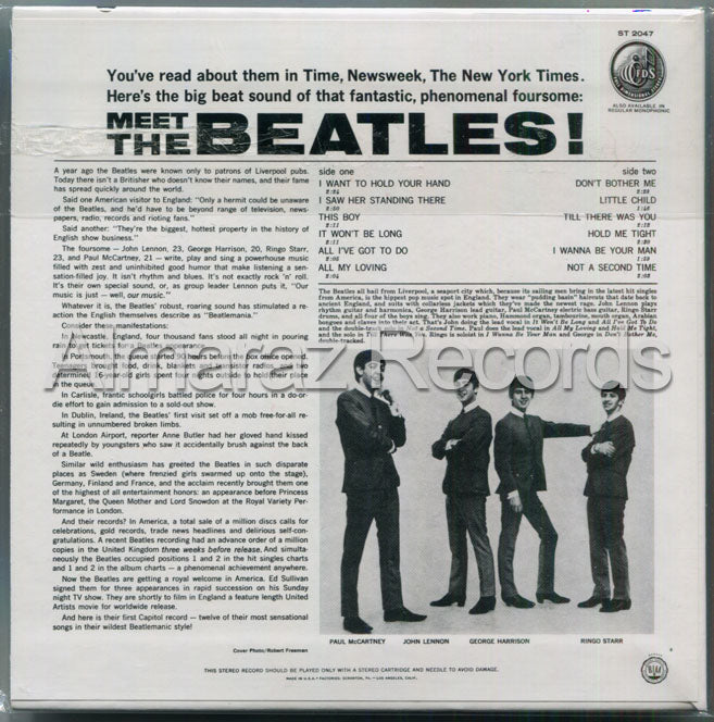 The Beatles Meet The Beatles CD [Import]