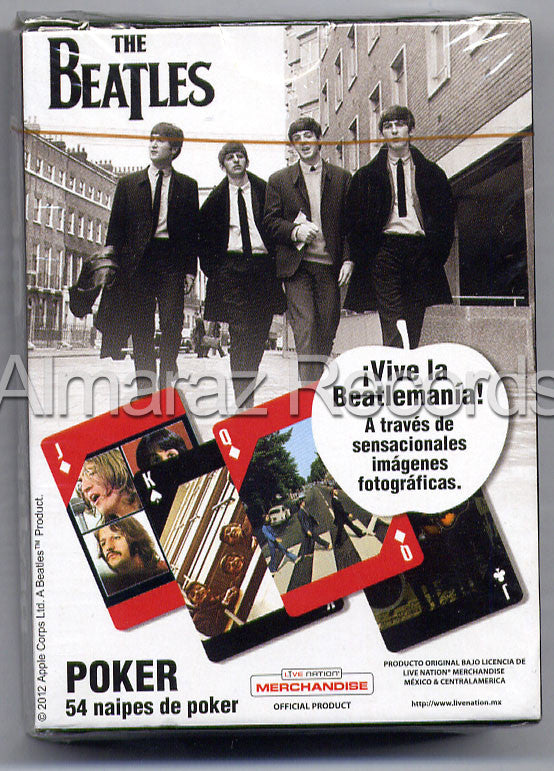 The Beatles 54 Poker Cards Deck #1 - Almaraz Records | Tienda de Discos y Películas  - 2