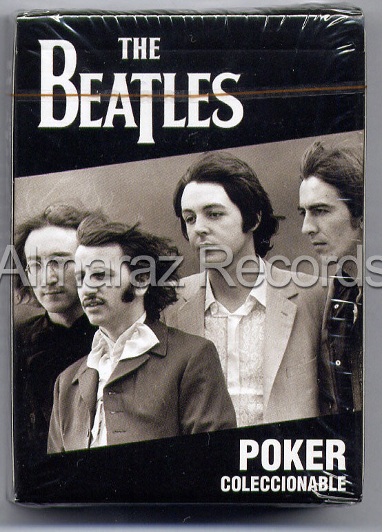 The Beatles 54 Poker Cards Deck #1 - Almaraz Records | Tienda de Discos y Películas  - 1