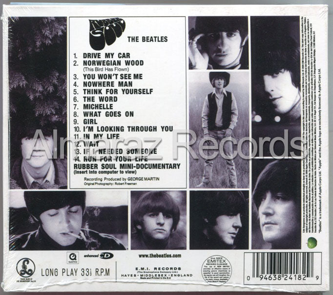 The Beatles Rubber Soul CD
