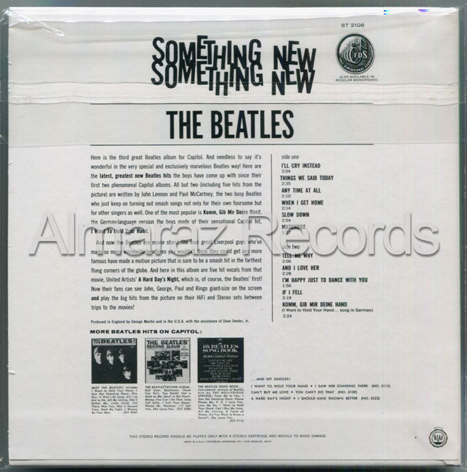 The Beatles Something New CD [Import]