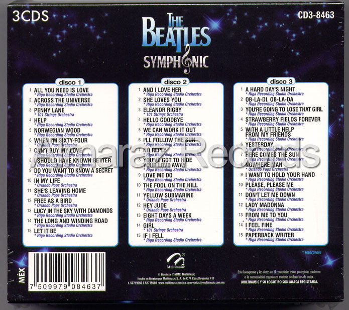 The Beatles Symphonic 3CD - Almaraz Records | Tienda de Discos y Películas  - 2