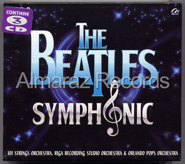 The Beatles Symphonic 3CD - Almaraz Records | Tienda de Discos y Películas  - 1