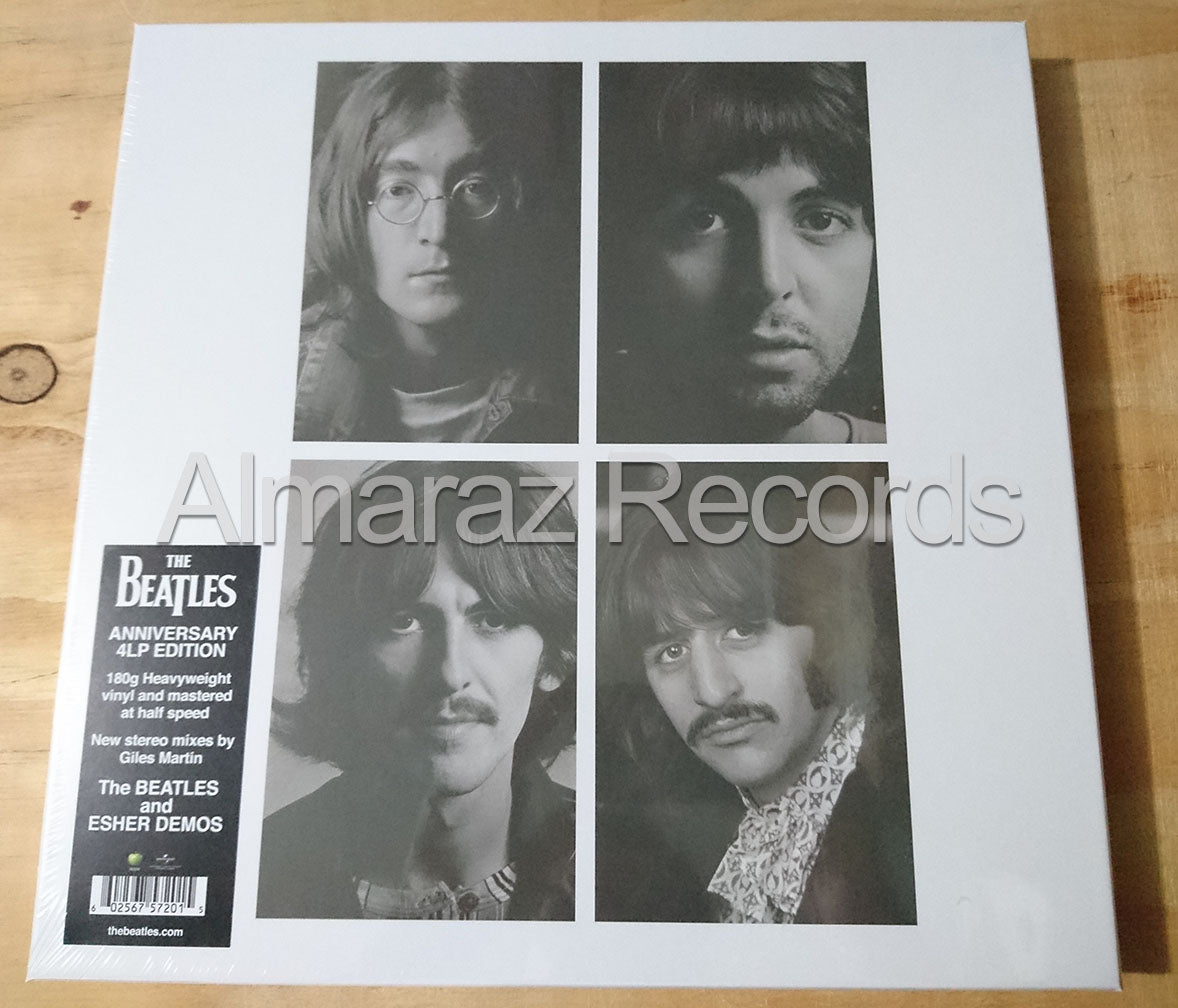 The Beatles White Album 50 Anniversary Quadruple Vinyl LP