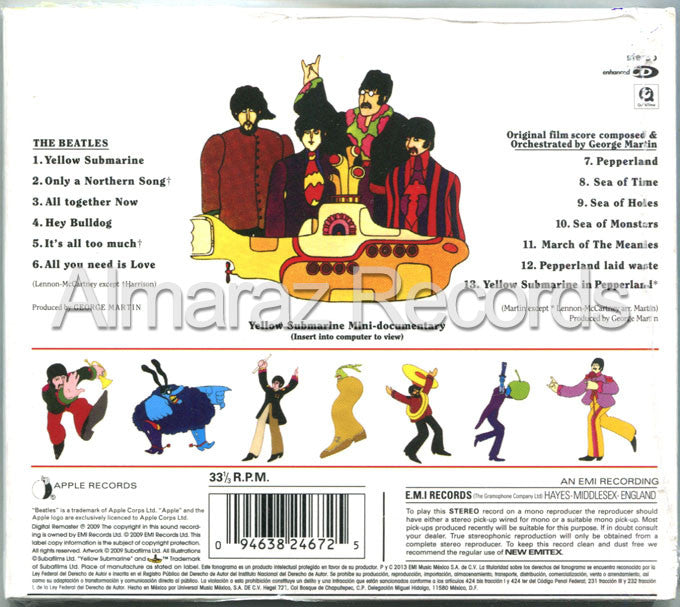 The Beatles Yellow Submarine CD - Almaraz Records | Tienda de Discos y Películas  - 2