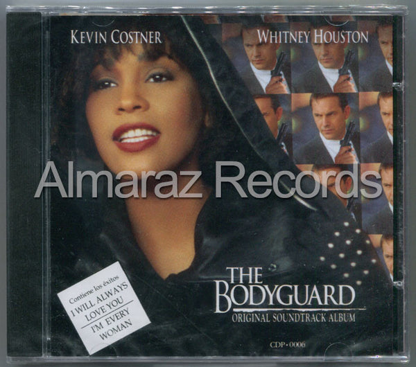 The Bodyguard Sountrack CD