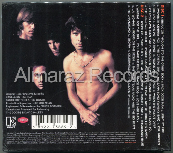 The Doors Legacy The Absolute Best Remastered 2CD