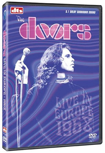 The Doors Live In Europe 1968 DVD [Import] - Almaraz Records | Tienda de Discos y Películas