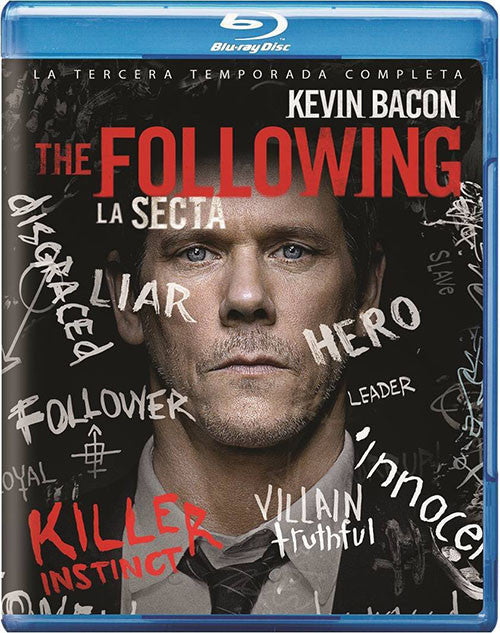 The Following Temporada 3 Blu-Ray - Almaraz Records | Tienda de Discos y Películas