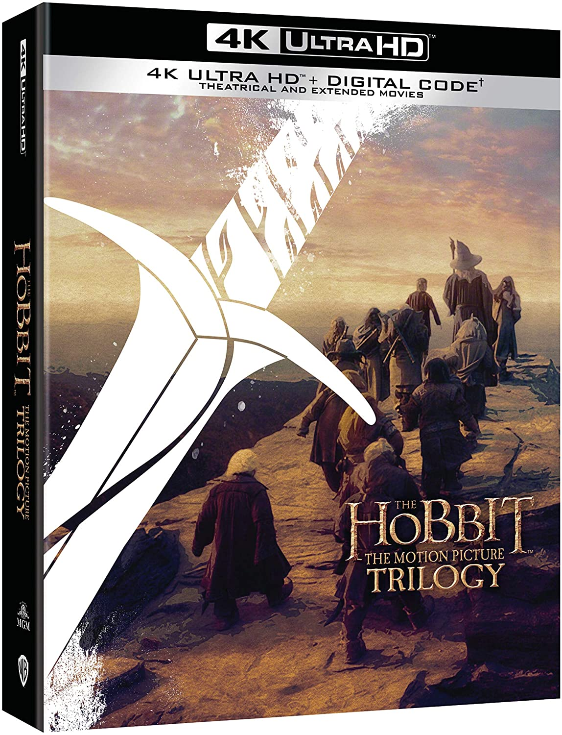 El Hobbit La Trilogia Blu-Ray 4K Ultra HD