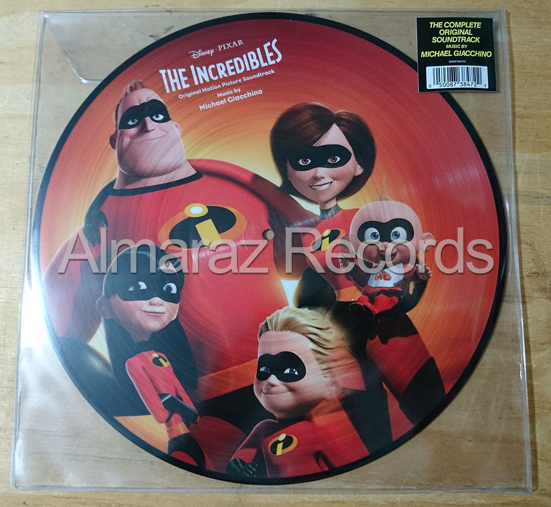 The Incredibles Vinyl Picture Disc LP