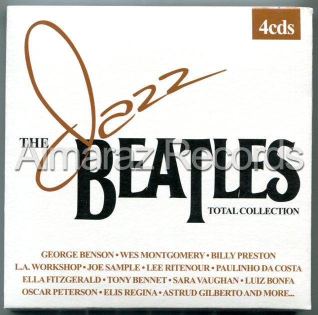 The Jazz Beatles Total Collection Edition 4CD - The Beatles Jazz - Almaraz Records | Tienda de Discos y Películas  - 1