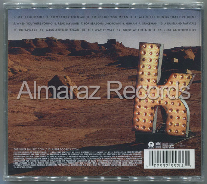 The Killers Direct Hits CD - Almaraz Records | Tienda de Discos y Películas  - 2