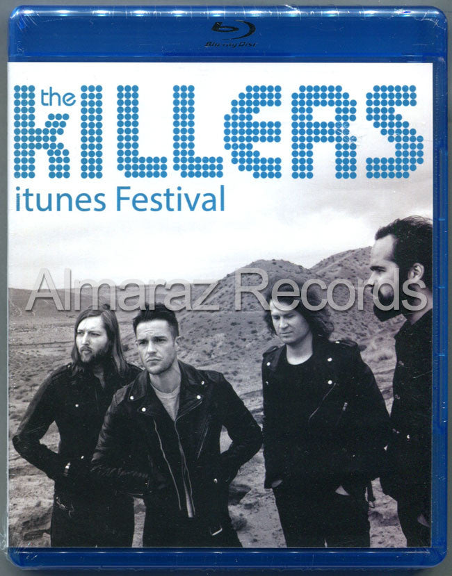 The Killers itunes Festival Blu-Ray - Almaraz Records | Tienda de Discos y Películas  - 1