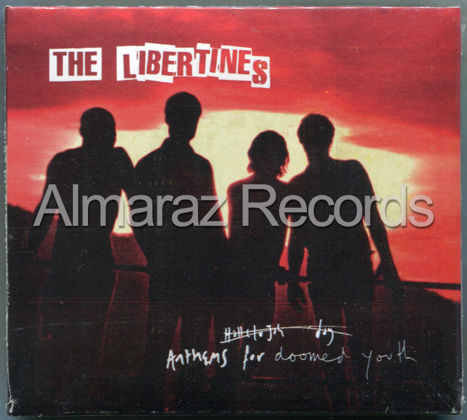 The Libertines Anthems For Doomed Youth Deluxe CD