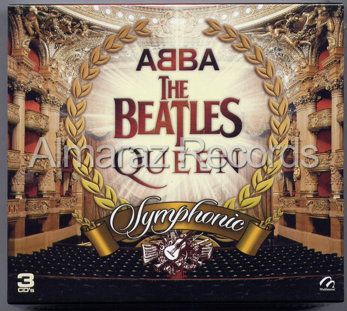 ABBA The Beatles Queen Symphonic 3CD - Almaraz Records | Tienda de Discos y Películas  - 1