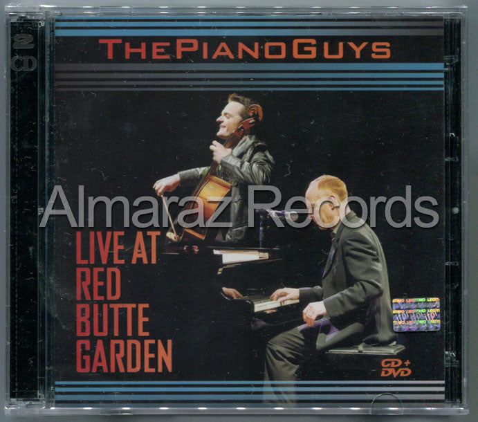 The Piano Guys Live At Red Butte Garden CD+DVD - Almaraz Records | Tienda de Discos y Películas  - 1