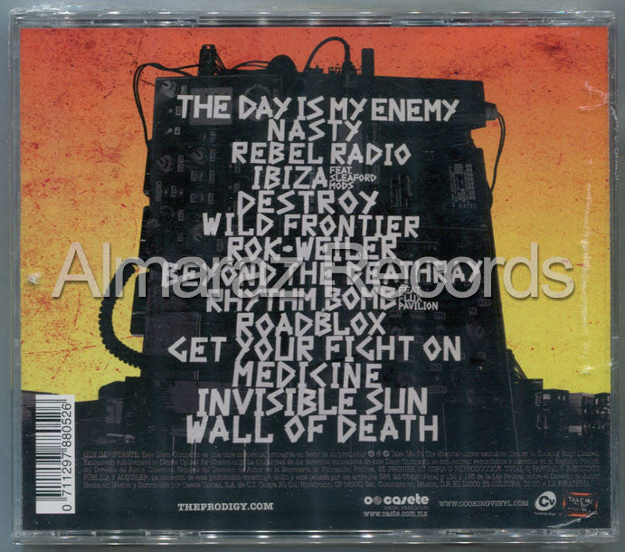 The Prodigy The Day Is My Enemy CD - Almaraz Records | Tienda de Discos y Películas  - 2