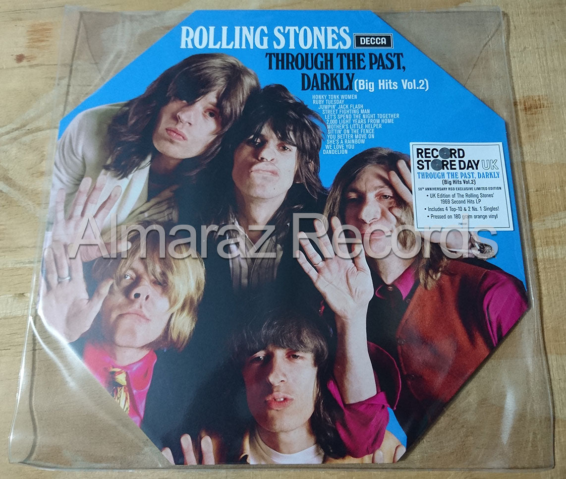 The Rolling Stones Big Hits Vol. 2 Through The Past Darkly Vinyl LP RSD2019