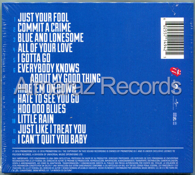 The Rolling Stones Blue & Lonesome CD - Almaraz Records | Tienda de Discos y Películas  - 2