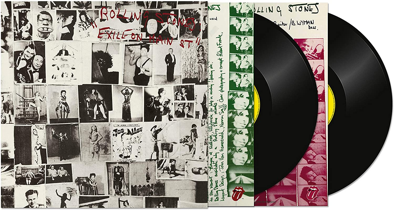 The Rolling Stones Exile On Main Street Vinyl LP
