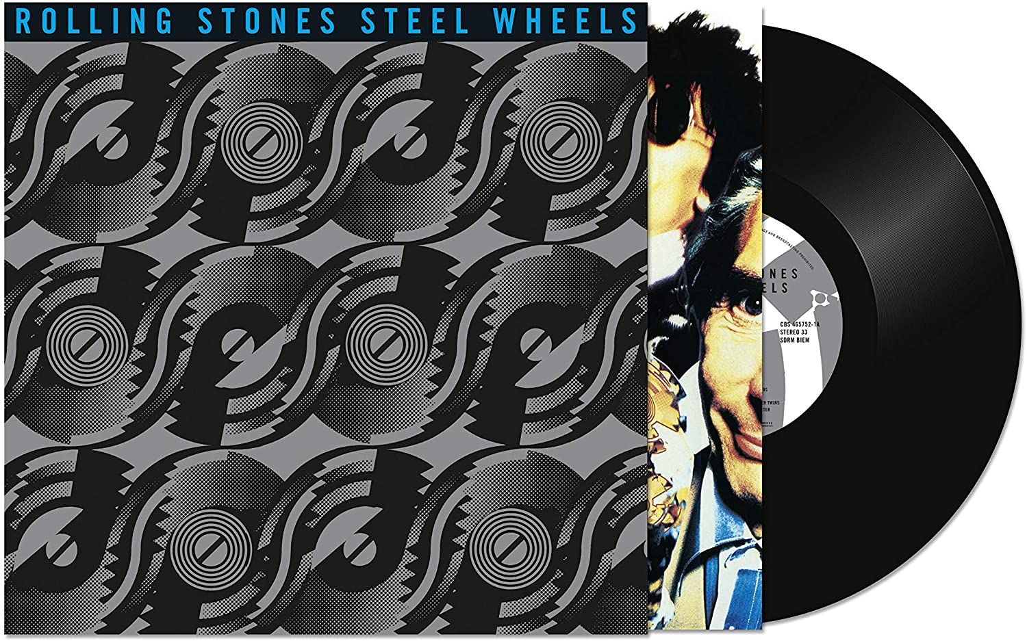 The Rolling Stones Steel Wheels Vinyl LP