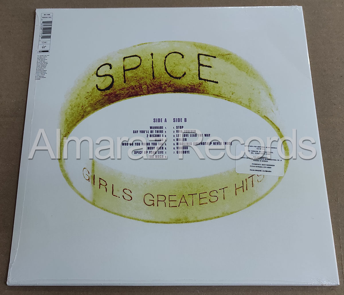 Spice Girls The Greatest Hits Vinyl LP